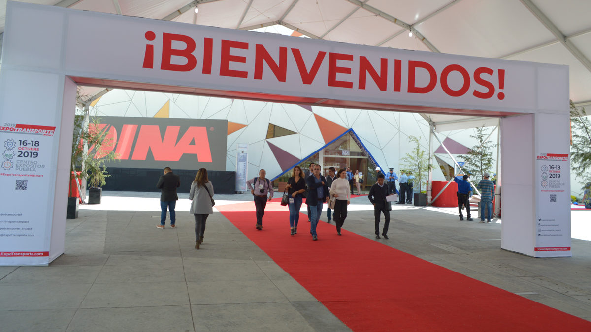 Expo Transporte en Puebla supera las expectativas