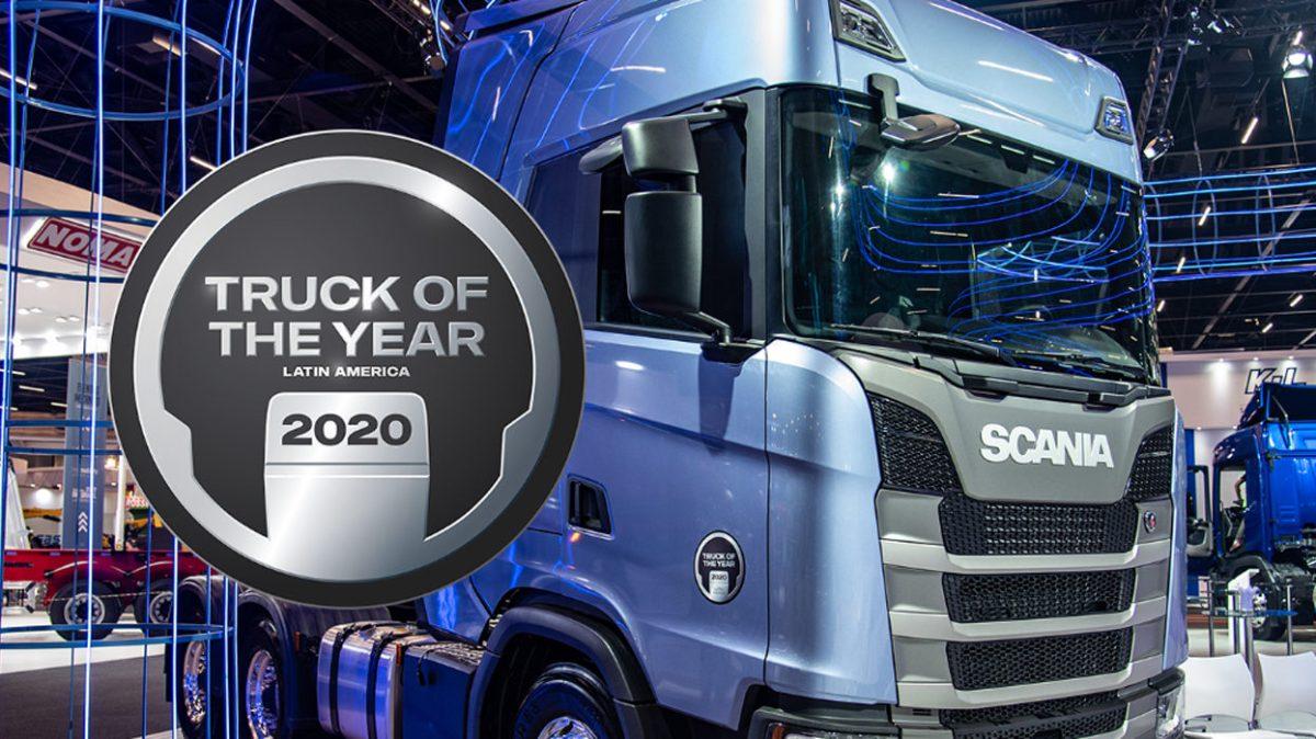Scania, Camión del Año en Latinoamérica 2020