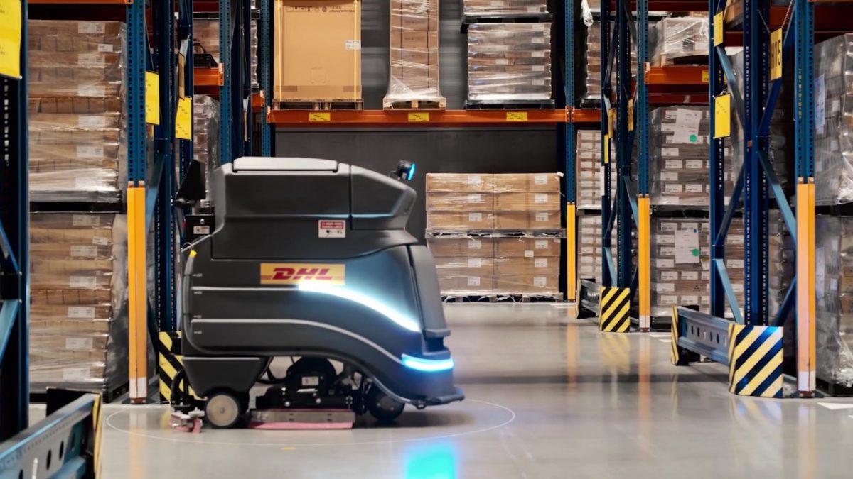 DHL y Avidbots instalarán robots para tareas de limpieza