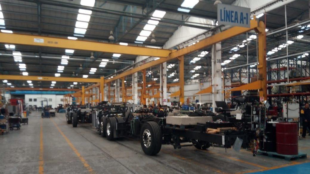 Volvo Buses retoma operaciones en Planta Tultitlán