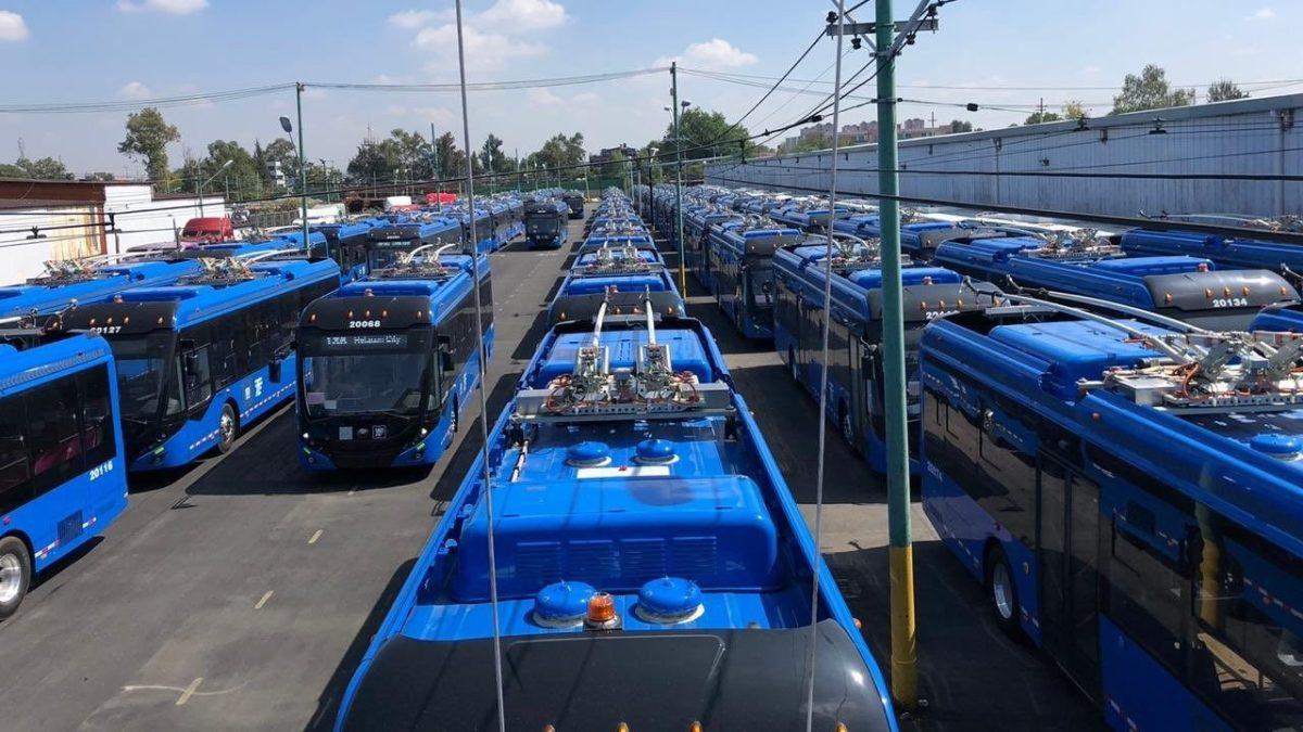 Llegan nuevas unidades para el Trolebús de la CDMX