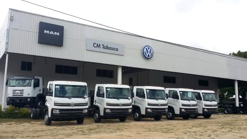 MAN Truck & Bus suma distribuidor en Tabasco