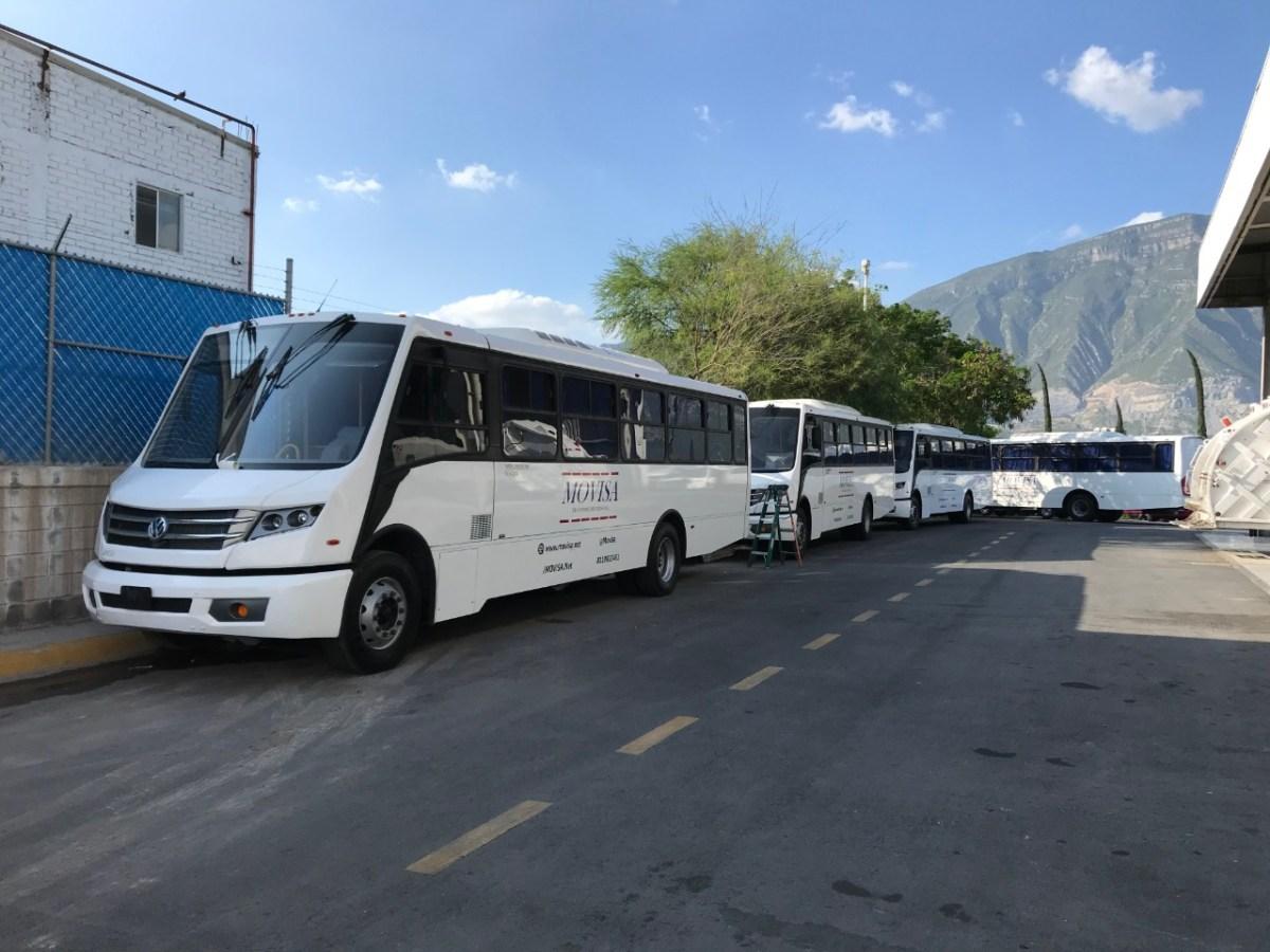 MAN Center Monterrey entrega primeros 6 Volksbus a MOVISA