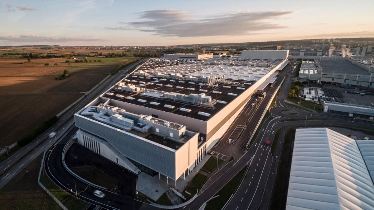 Factory 56: El futuro de la producción para Mercedes-Benz