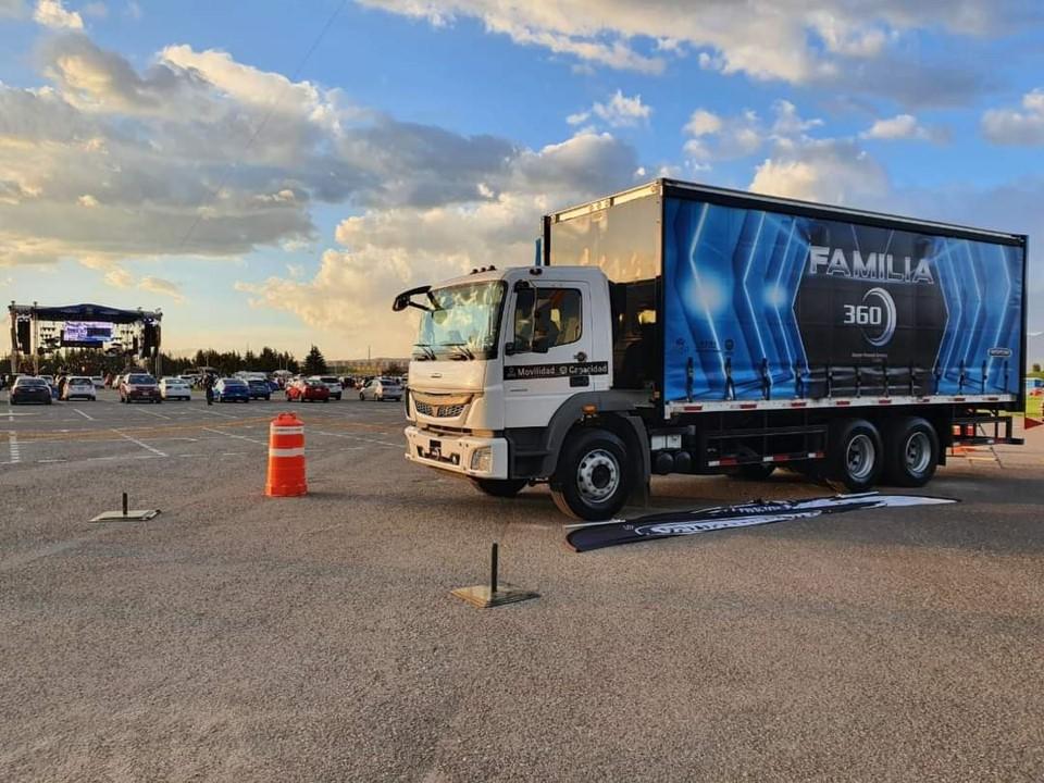 Freightliner, presente en eventos masivos de la «nueva normalidad»