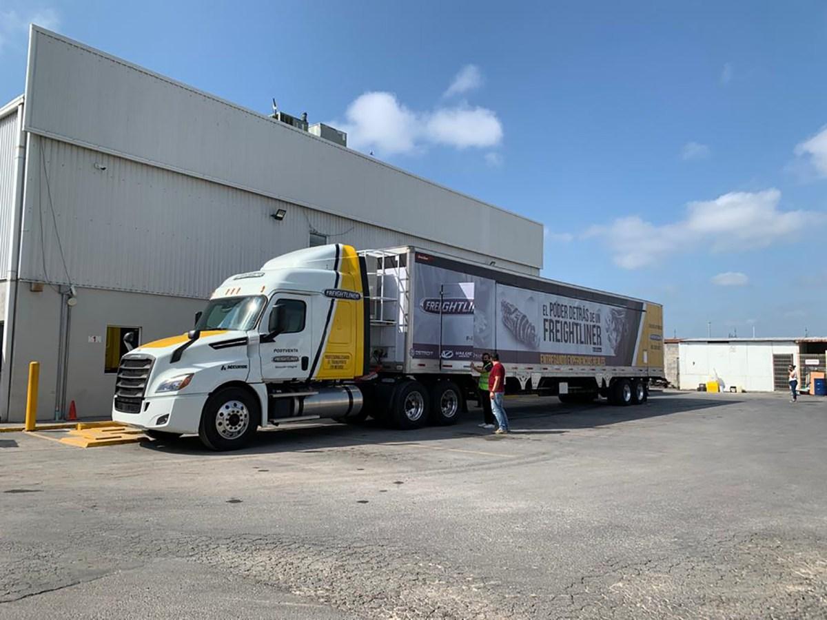 Reactiva Freightliner su gira en la «nueva normalidad»