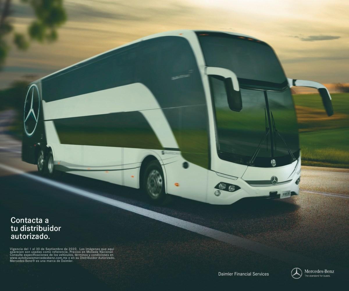 Contribuye Mercedes-Benz Autobuses a la reactivación del turismo