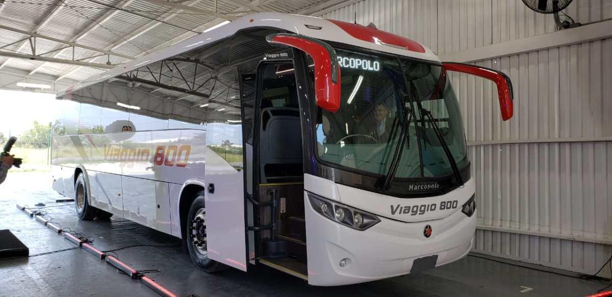 Viaggio 800, el nuevo integrante de la familia Marcopolo