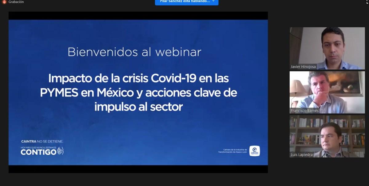 Extiende CAINTRA Nuevo León recomendaciones a PyMEs para superar la crisis