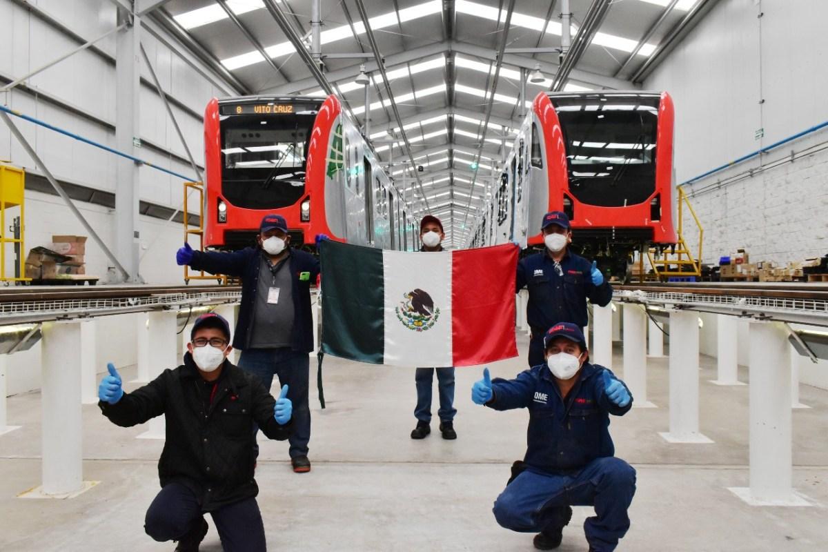 Entrega CAF México primera unidad de tren para el metro de Manila