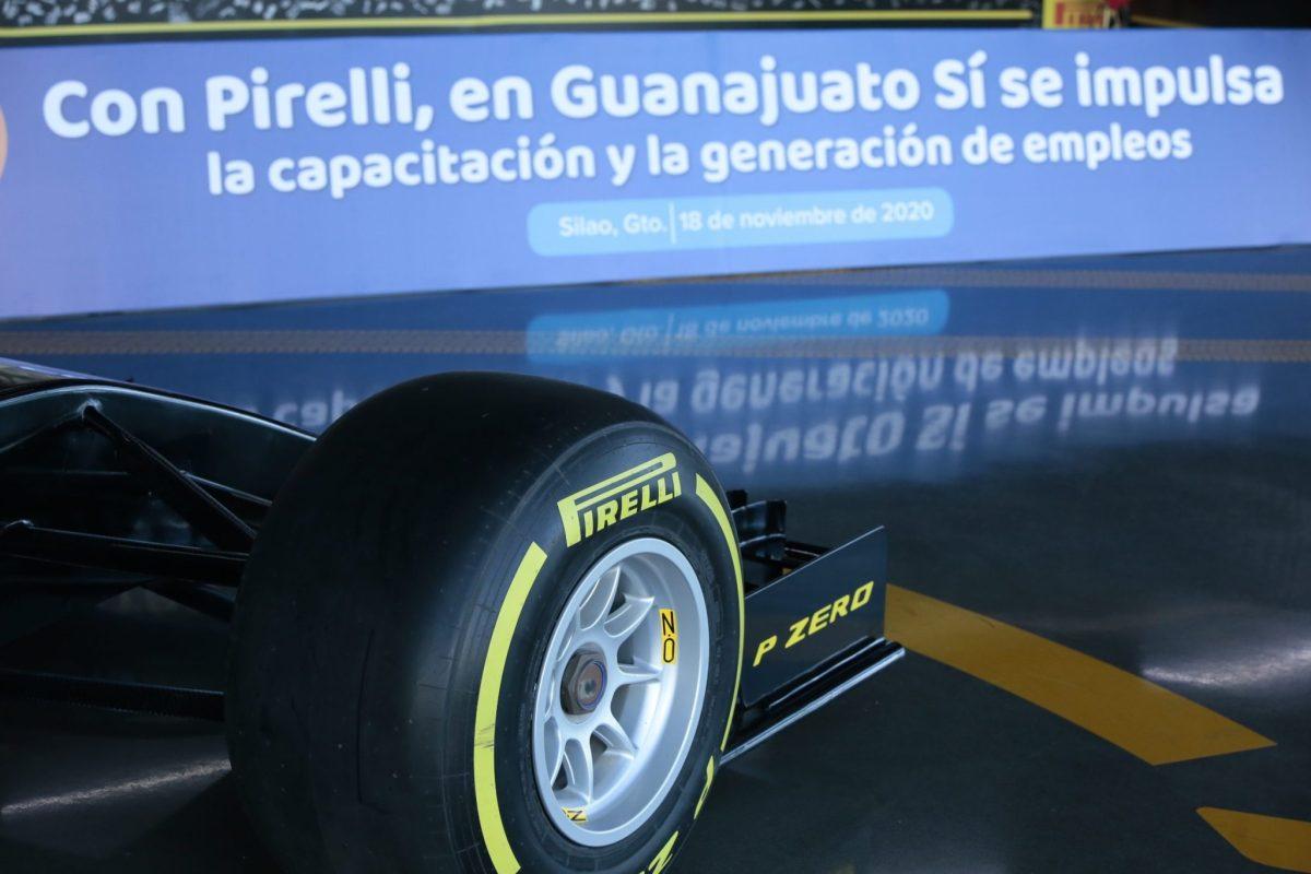 Impulsa Pirelli capacitación y generación de empleos en Guanajuato