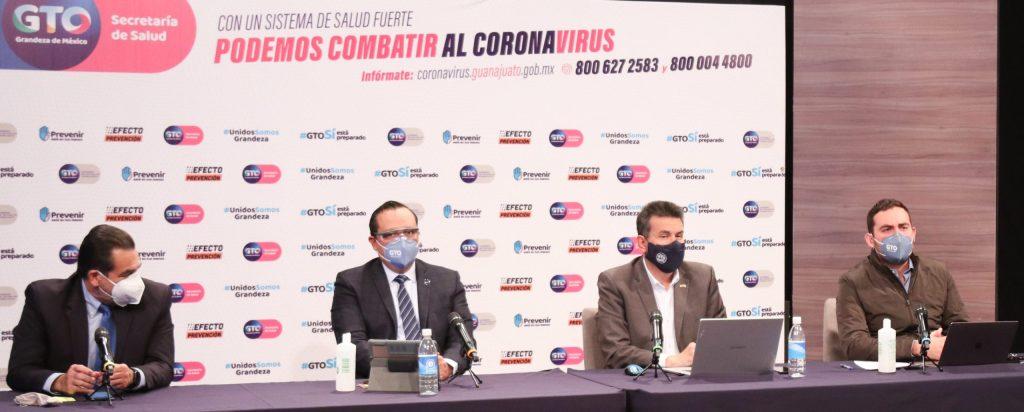 Se mantiene Semáforo Rojo en Guanajuato hasta el 17 de enero