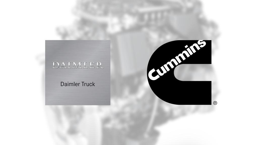 Daimler y Cummins anuncian plan global para motores de rango medio