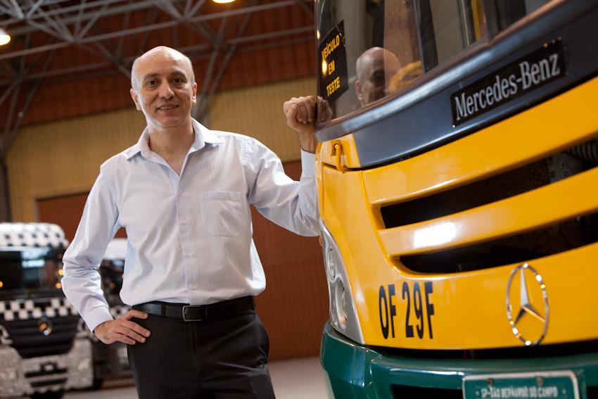 Paschoal Federico, nuevo Director de Ingeniería y Desarrollo de Mercedes-Benz Autobuses