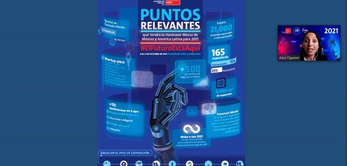 Promueven Industria 4.0 en México a través del primer roadshow ITM 2021