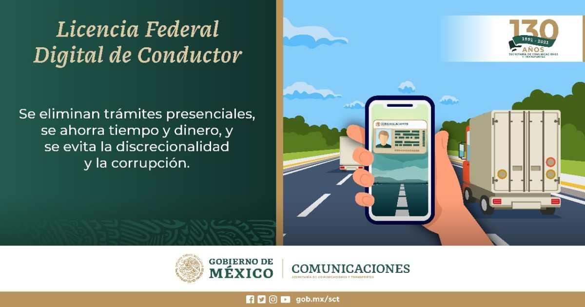 Licencia Federal de Conductor ¿Qué formatos son válidos?