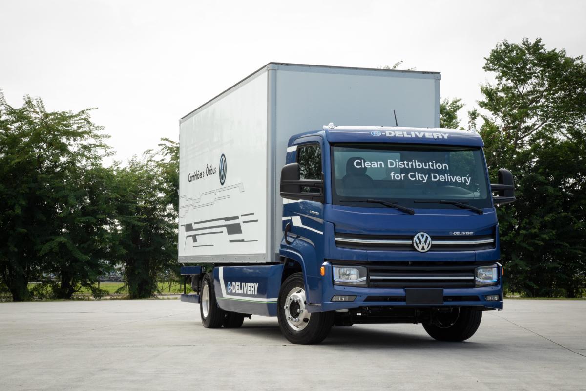 VW Camiones y Buses iniciará producción del e-Delivery este semestre