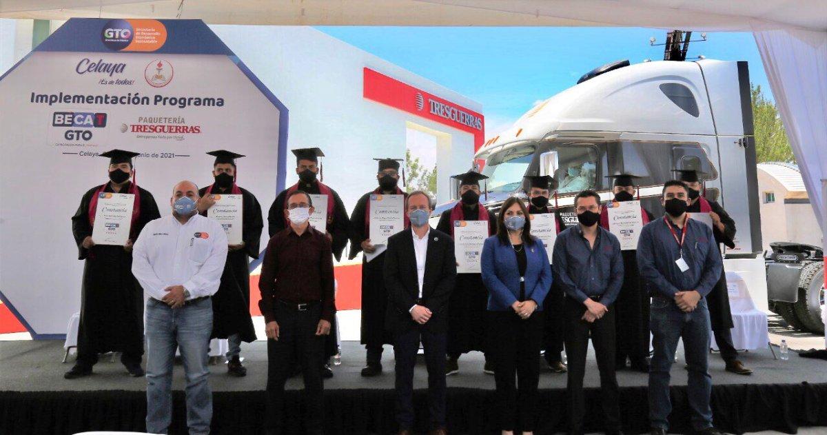 Certifica Gobierno de Guanajuato a operadores de Tresguerras