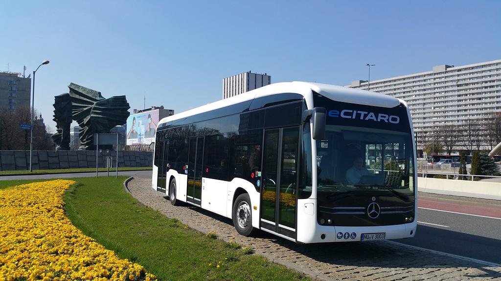 El autobús eléctrico eCitaro de Mercedes-Benz llegará a las calles de Polonia