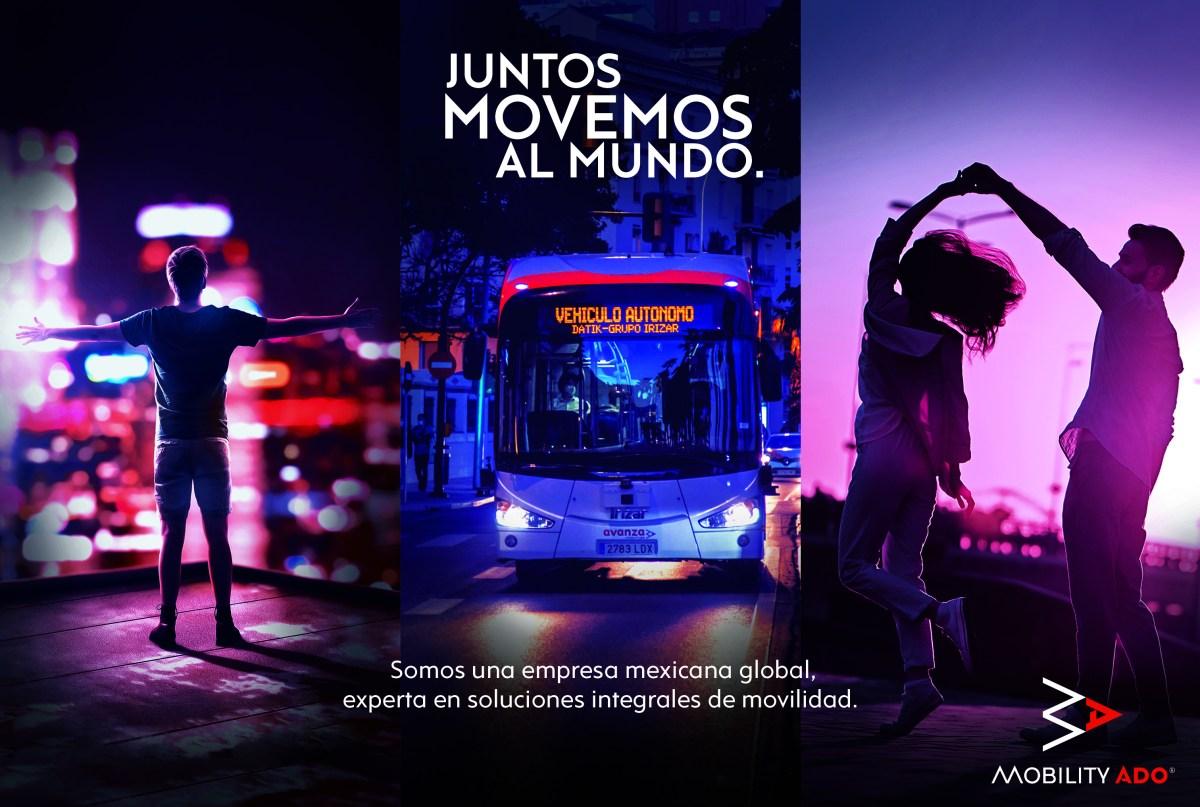 """Impulsa Mobility ADO movilidad responsable a través de iniciativa """"Juntos Movemos al Mundo"""""""