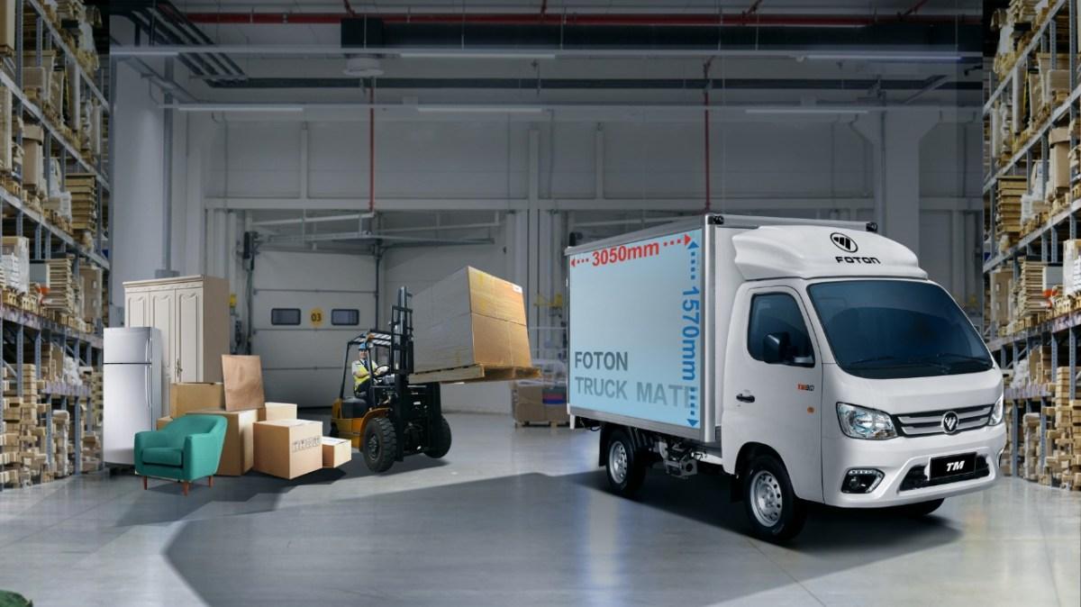 Truck Mate, el camión estrella de FOTON para distribución urbana