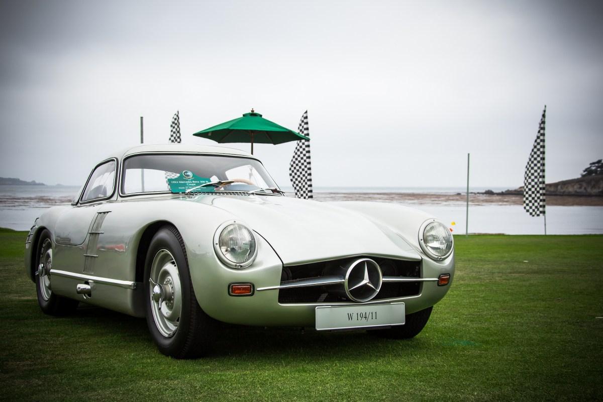 Mercedes-Benz SL, presente en el Concours d'Elegance de Pebble Beach