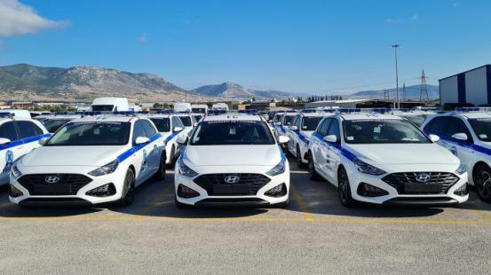 Στη διάθεση του EL.AS 33 νέα περιπολικά Hyundai i30