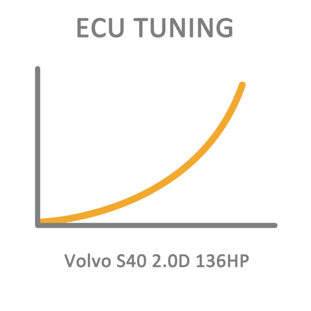 Volvo S40 2 0d 136hp Ecu Tuning Remapping Programming