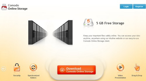 comodo online storage 16 alternatives à DropBox