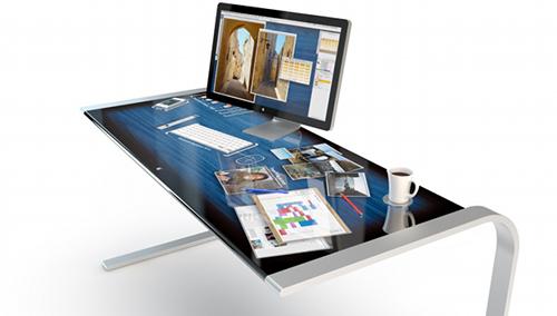 Apple iDesk Concept1 5 concepts Apple qu'on aimerait (tous) posséder