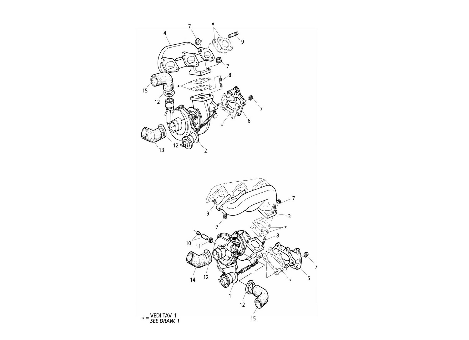 Turboblowers And Exhaust Manifolds