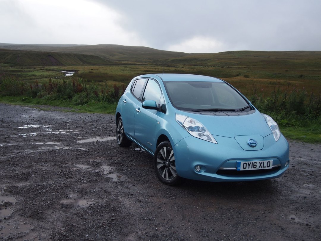 Nissan Leaf 30kWh in Wales 2016 - Brecon Beacons