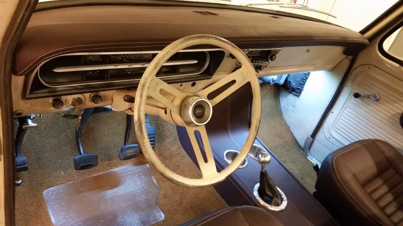 1968 Ford Mustang Center Console