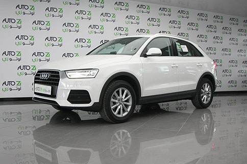 Audi Q3   White Color