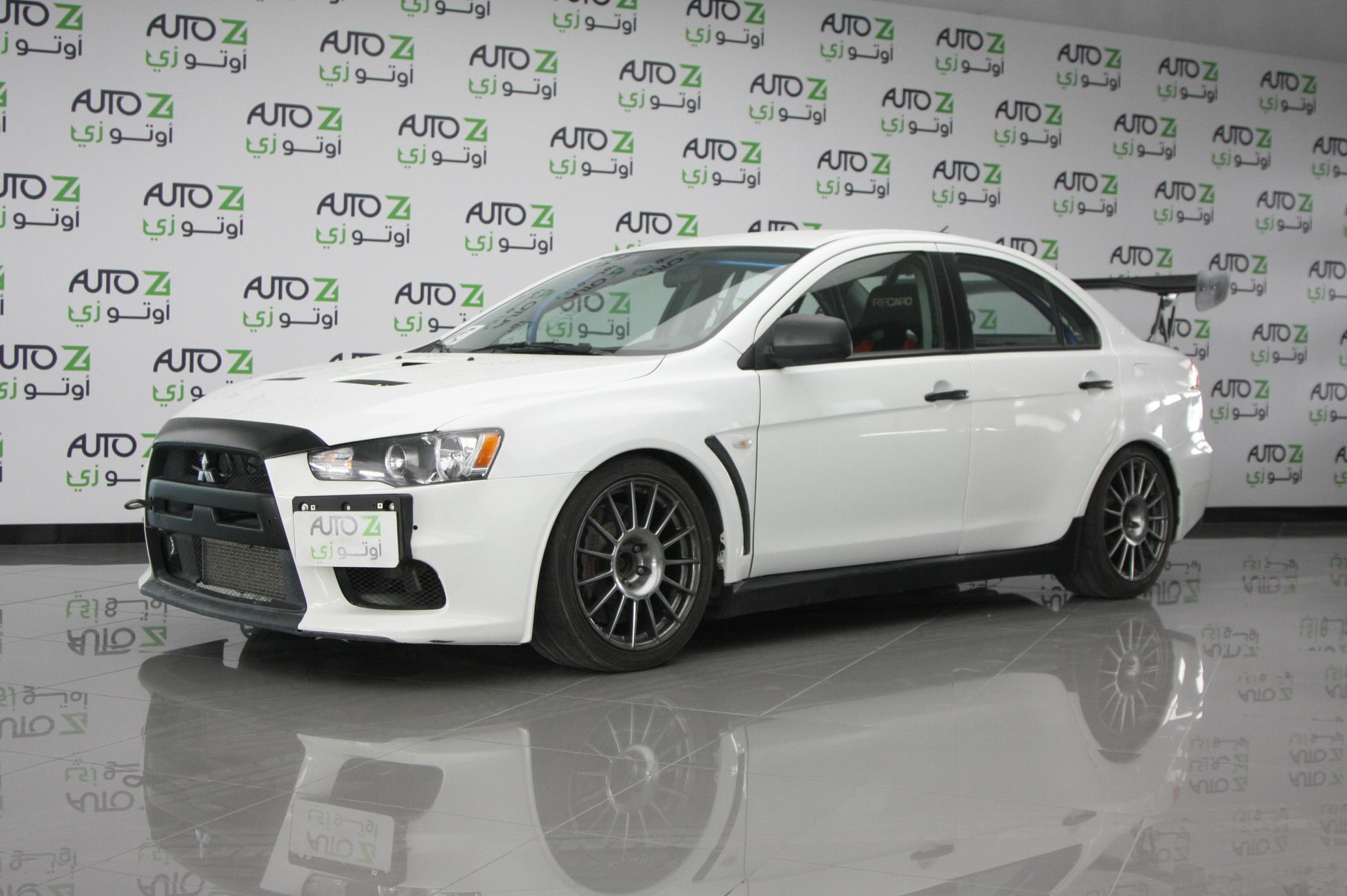 2009 Mitsubishi Lancer Evolution | White Color