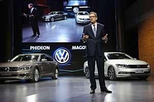 VW-China-Chef Jochem Heizmann. Foto. VW