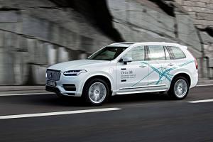 Der Volvo XC90 fährt im Drive Me-Projekt autonom. Foto: Volvo