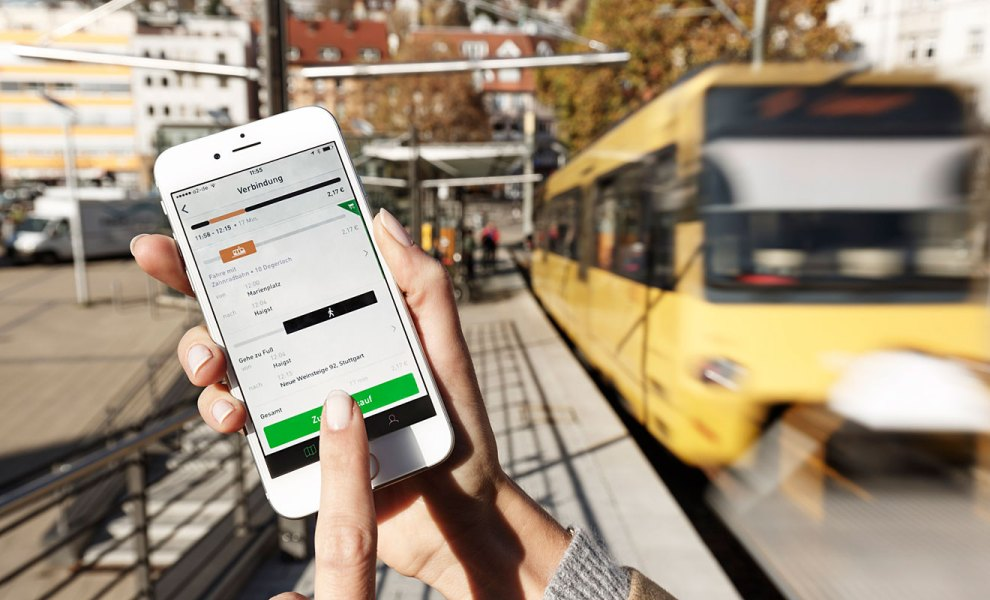 Nur vernetzt kann der Nahverkehr laut einer Studie funktionieren. Foto: Daimler