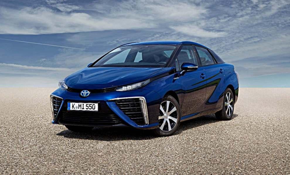 Der Toyota Mirai. Foto: Toyota