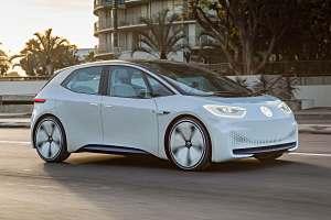 Der VW I.D. Foto: VW