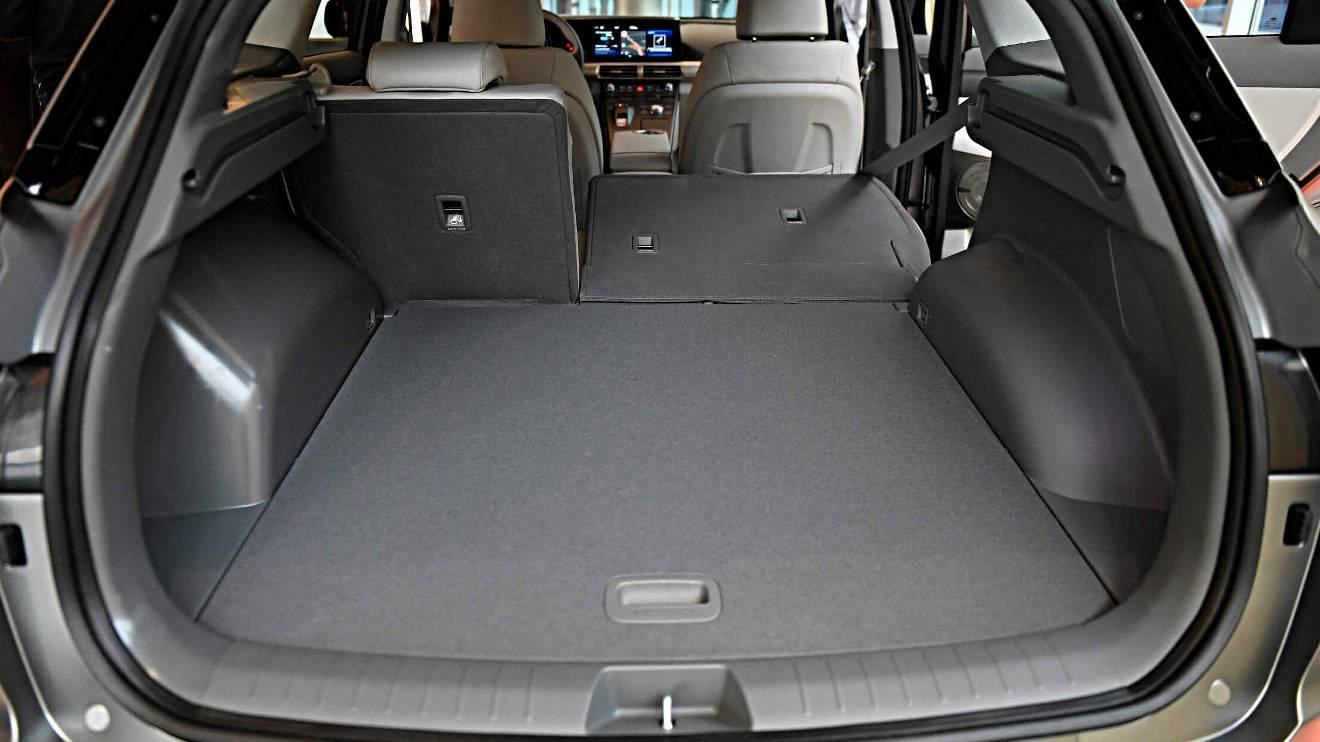 Kofferraum des Hyundai Nexo.