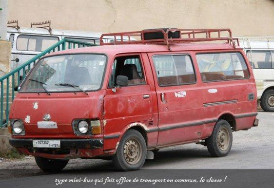 mini bus - l'autre ailleurs au Liban, une autre idée du voyage