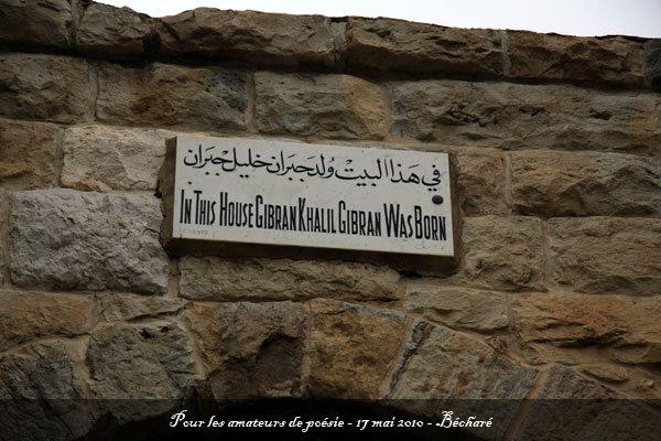 la ville du poète - Bécharé - l'autre ailleurs au Liban, une autre idée du voyage
