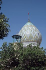 mosquée à Shiraz - l'autre ailleurs en Iran, une autre idée du voyage