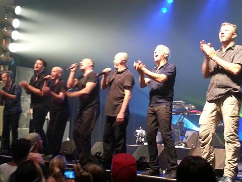 Zebda en concert au Metropolis