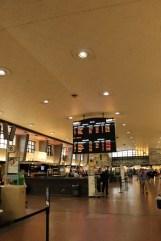 la gare centrale depuis la ville souterraine