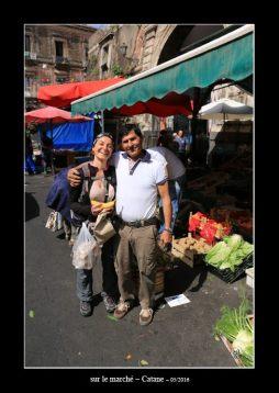 sur le marché de Catane