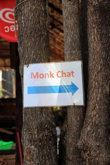 Dialogue avec le moine