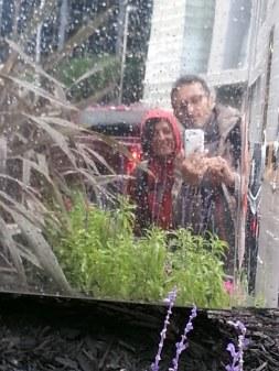 La pluie sur nos capuches