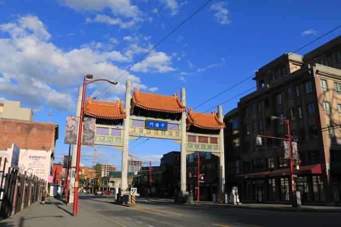 aux abords du Chinatown